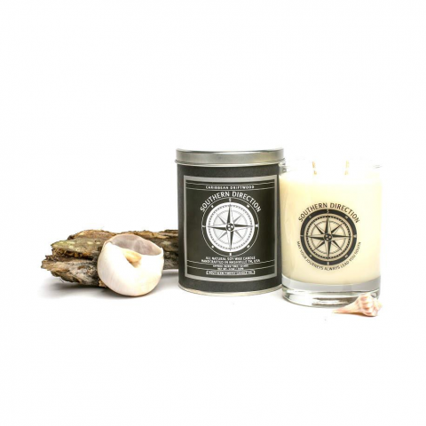 Southern Firefly Caribbean Glass Candle