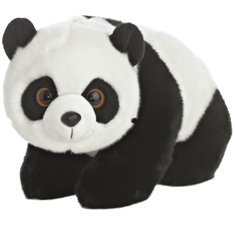 Lin Lin Panda Standing 17in