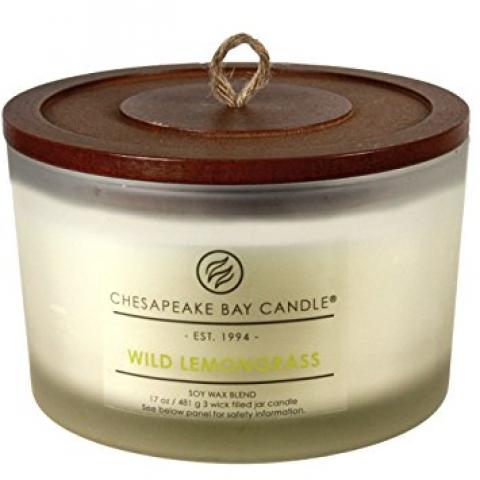 Chesapeake Bay 17oz Wild Lemongrass Candle