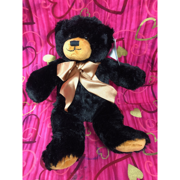 Small Plush Black Bear