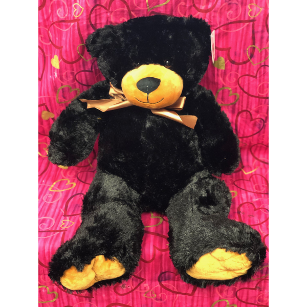 Medium Plush Black Bear
