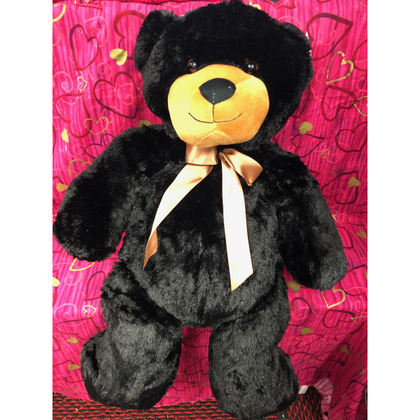 Large Plush Black Bear