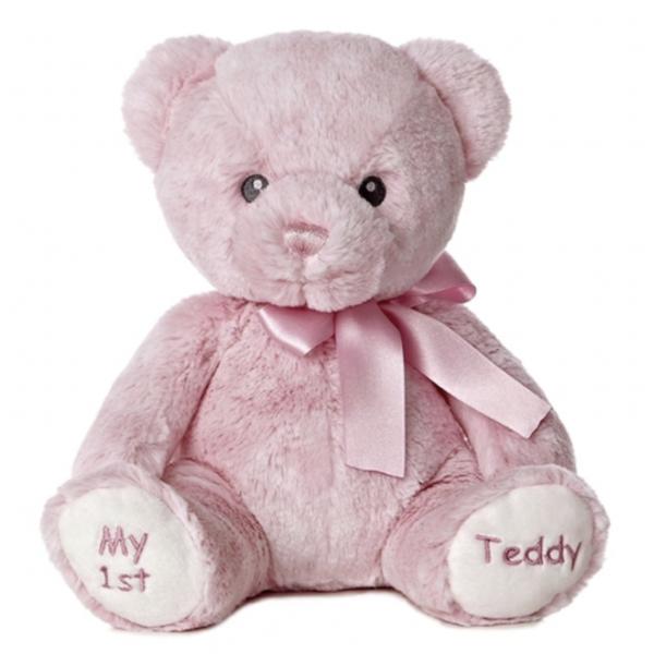 Aurora My First Teddy Pink