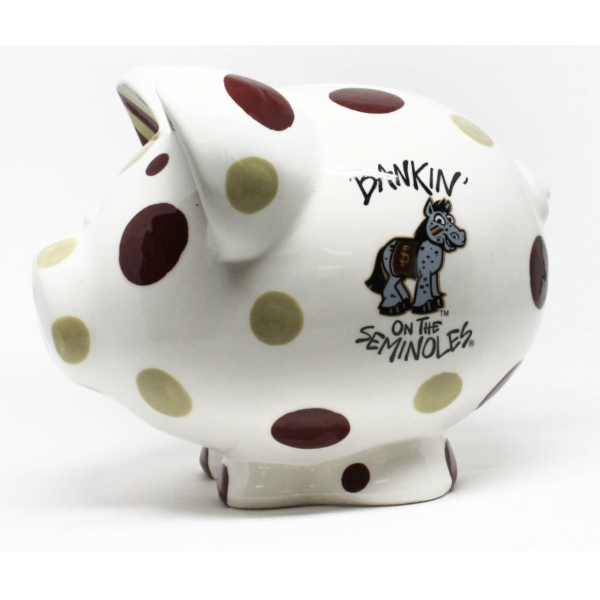 Florida State Seminoles 'Bankin' on the...' Piggy Bank