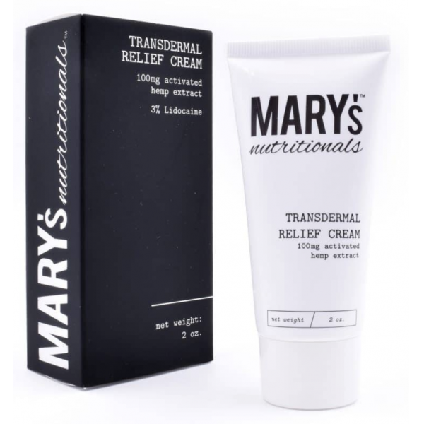 Mary's Transdermal Hemp Relief Cream