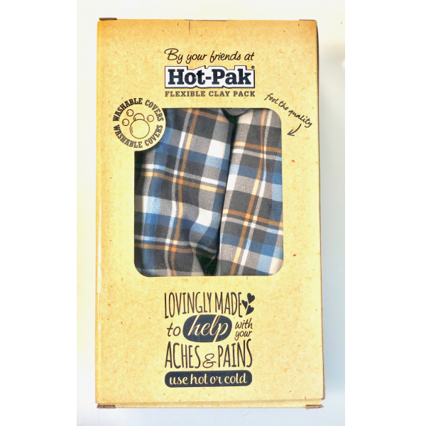 Plaid Hot-Pak Flexible Clay Pack