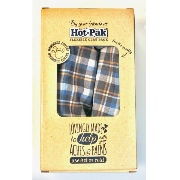 Plaid Hot-Pak Flexible Clay Pack