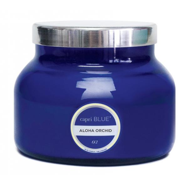 Capri Blue 19oz. Blue Aloha Orchid Candle