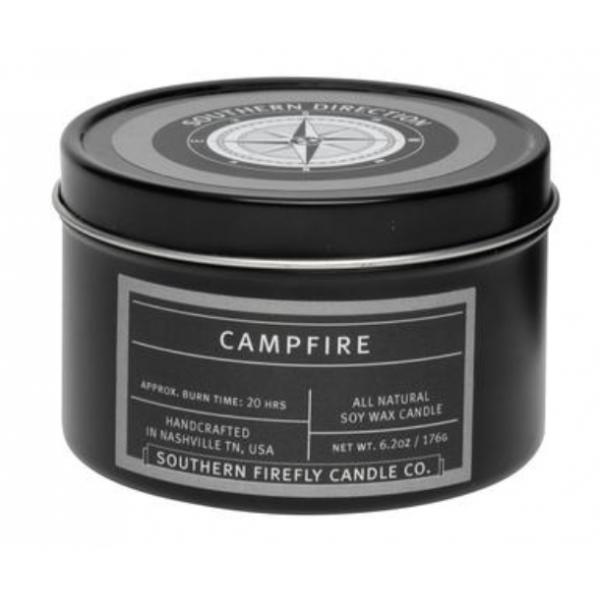 SouthernFirefly Campfire 8oz Travel Tin