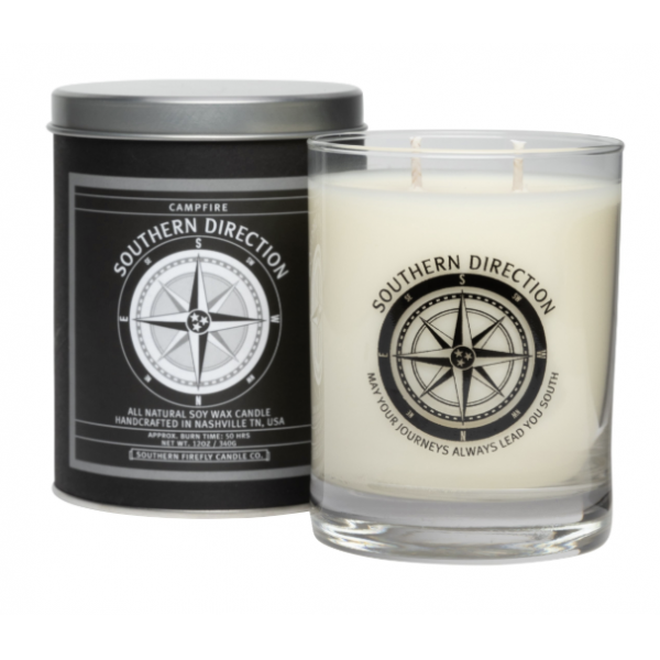 Southern Firefly 12oz Campfire 12oz Glass Candle