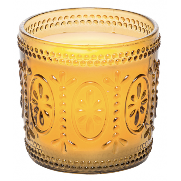 Candle Impressions Amber Flameless LED Jar Candle