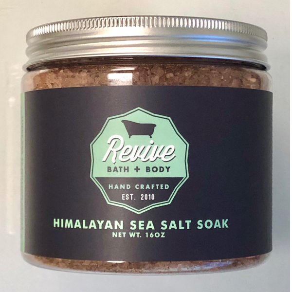 Revive Bath & Body Himalayan Seal Salt Muscle Soak