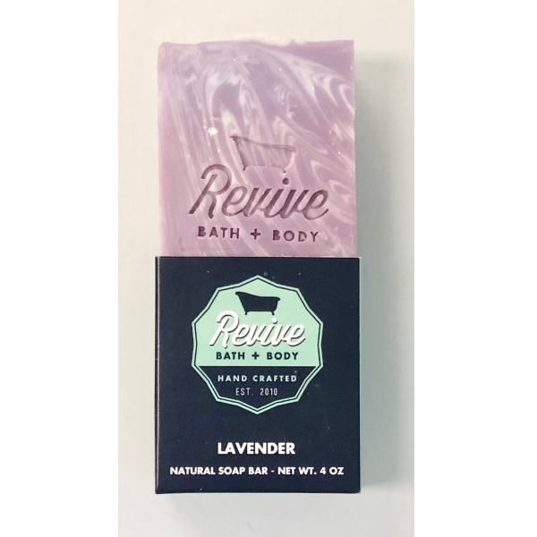 Revive Bath & Body 4oz Lavender Soap