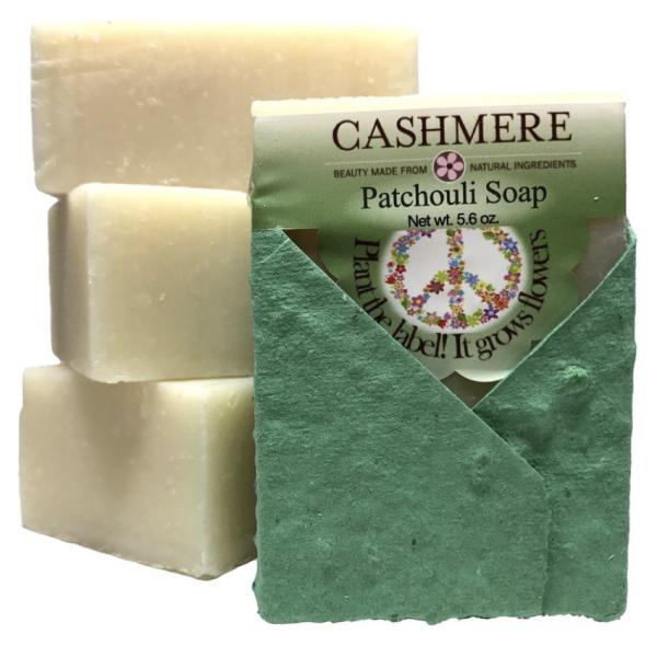 Cashmere 5.6oz Patchcouli Soap