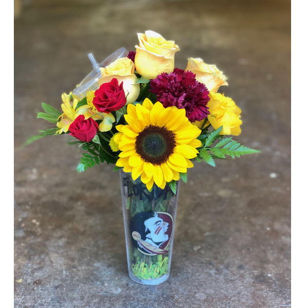 FSU Tumbler Arrangement