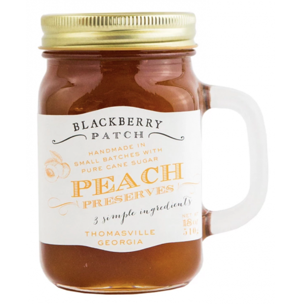 Blackberry Patch Handled Mug Peach Preserves