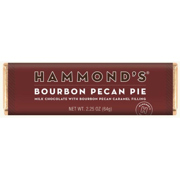 Hammond's Bourbon Pecan Pie Milk Chocolate Candy Bar