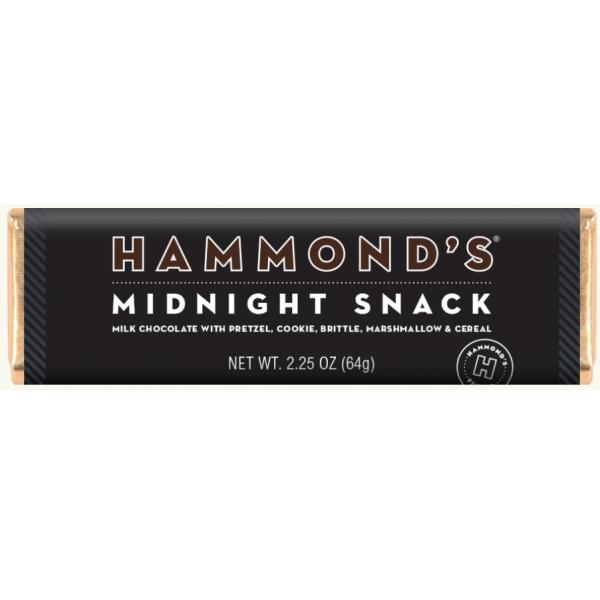 Hammond's Midnight Snack Milk Chocolate Candy Bar