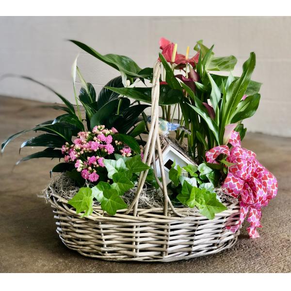 Valentine Garden Basket