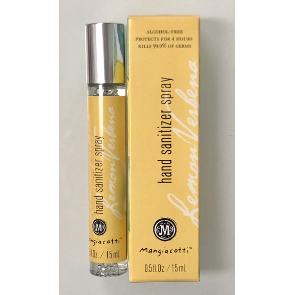 Mangiacotti Lemon Verbena Hand Sanitizer Spray