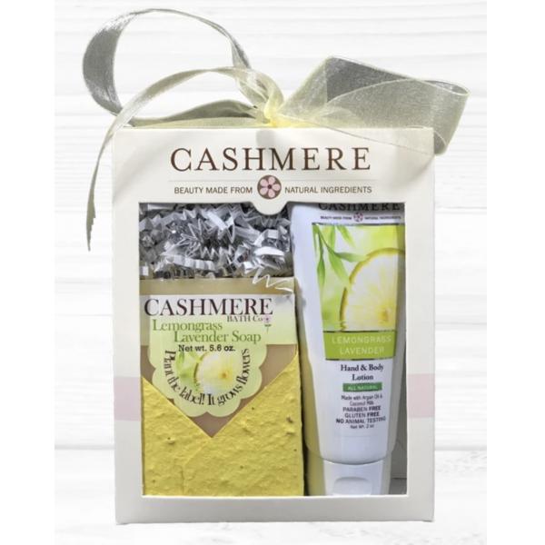 Cashmere - Lemongrass Lavender Gift Set
