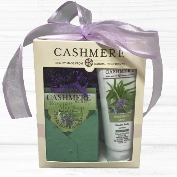Cashmere - Rosemary Mint Gift Set