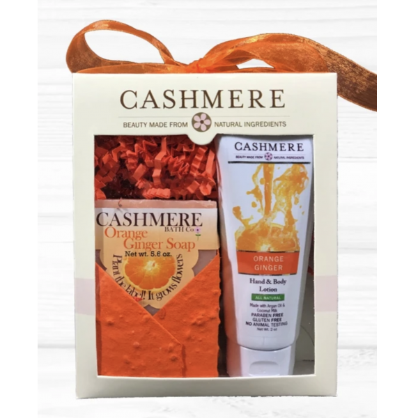 Cashmere - Orange Ginger Gift Set