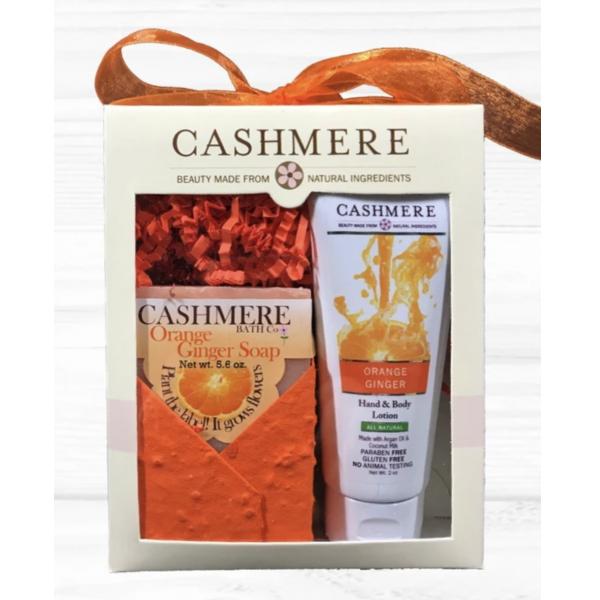Cashmere - Orange Ginger Gift Set