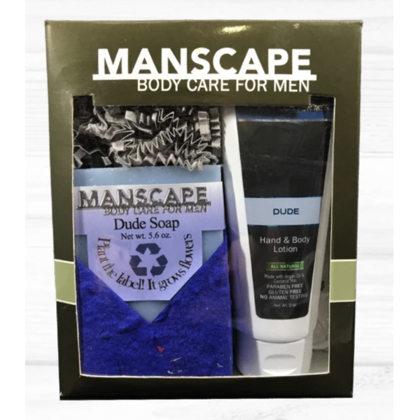 Manscape Dude Gift Set