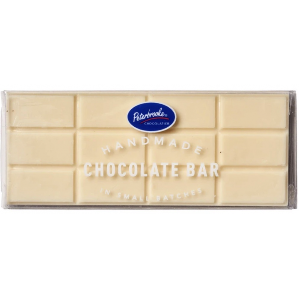 Peterbrooke Solid White Chocolate Bar