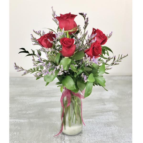 1/2 Dozen Premium Red Roses