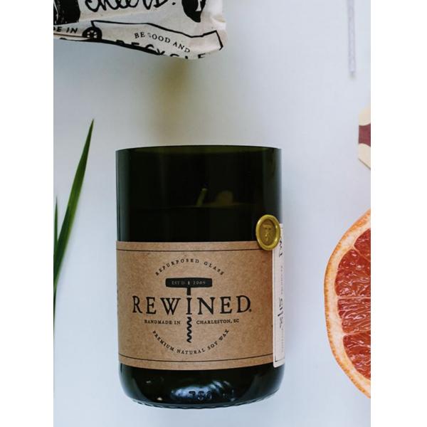 Rewined Sauvignon Blanc Signature Wine Bottle Candle