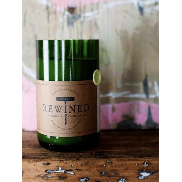 Rewined Chardonnay Signature Wine Bottle Candle