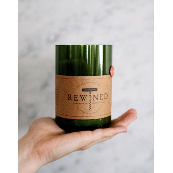 Rewined Merlot Signature Wine Bottle Candle