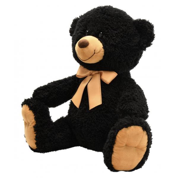 Napco Black Plush Bear