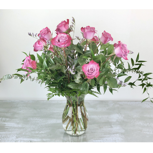 Dozen Premium Lavender Roses