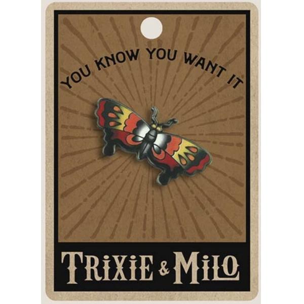 Trixie & Milo Tattoo Butterfly - Enamel Pin