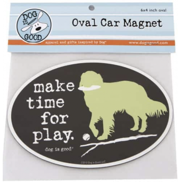 Make Time For Play Magnet