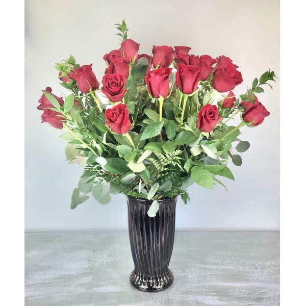 Three Dozen Premium Long Stem Red Roses