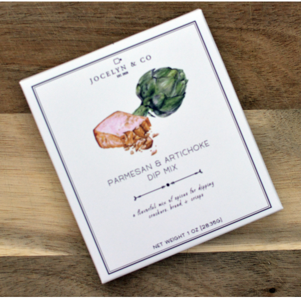 Jocelyn & Co Parmesan & Artichoke Dip Mix