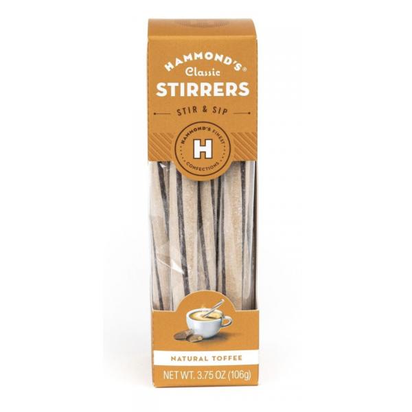 Hammond's Candies Toffee Stirrers