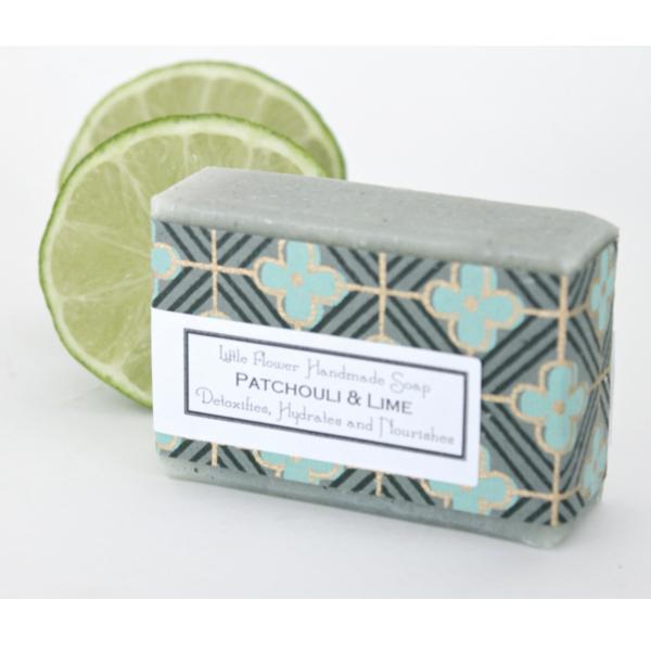 Little Flower Shop Patchouli Lime Soap