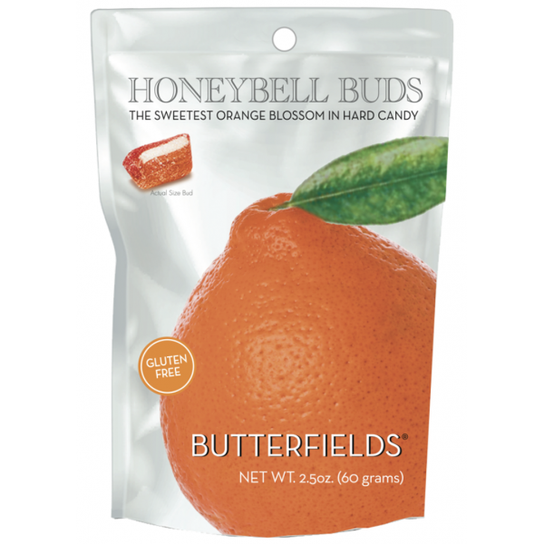 "Butterfield's Honeybell Orange Hard Candy ""Buds"""