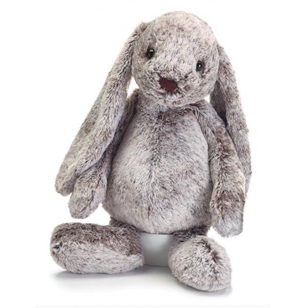 Burton & Burton Plush Gray Floppy Ear Bunny