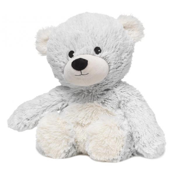 Warmies Blue Marshmallow Plush Bear