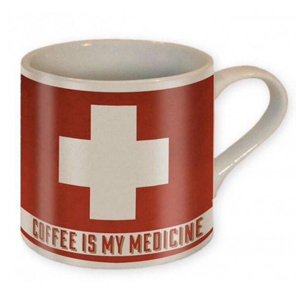 Trixie & Milo Coffee is my Medicine Coffee Mug