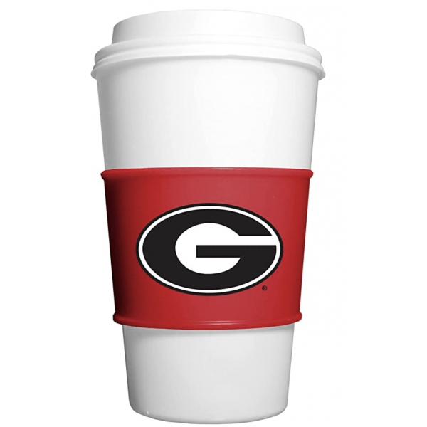 Georgia Bulldogs Team Gripz Cup Sleeve