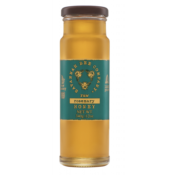 Savannah Bee Company Raw Rosemary Honey