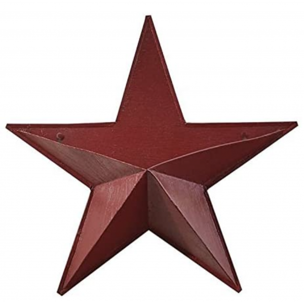 Peacock Park Designs Red Star Wall Pocket