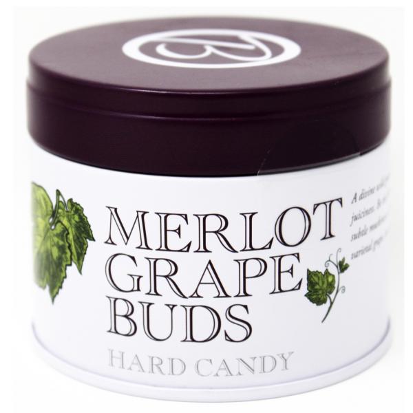 Butterfields Merlot Grape Buds Hard Candy Tin